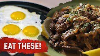 Eat Liver and Egg Yolks to Prevent a Fatty Liver