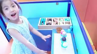 서은이의 병원 마트 슈퍼마켓 아이스크림 가게 주방 놀이 Pretend Play in Hospital, Supermarket, Hamburger and Icecream Store