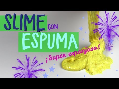 Cómo Hacer Slime Con Espuma Afeitar Sin Borax