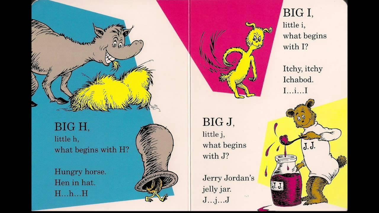 Dr. Seuss's ABC An Amazing Alphabet Book song