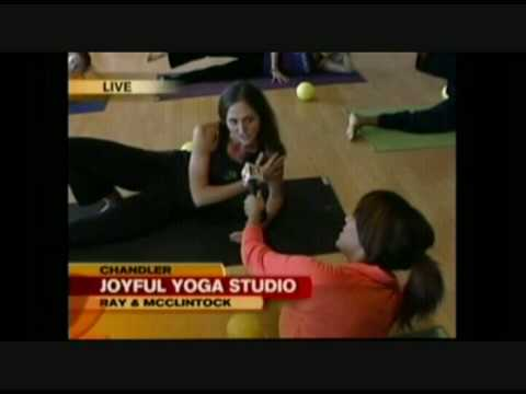 GMAZ at Joyful Yoga Studio (Pilates part 2)
