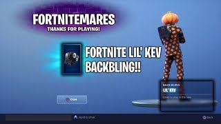 FORTNITE LIL' KEV BACKBLING - UNLOCKED