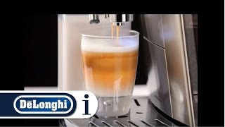 How to Make a Caffe Latte in Your De'Longhi PrimaDonna S DeLux ECAM 28.465 AU Coffee Machine
