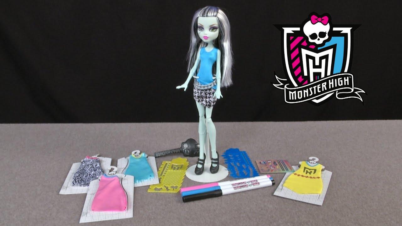 Monster High Designer Booo Tique Frankie Stein From Mattel Youtube