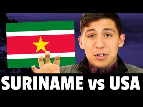 The truth about living in Suriname  DUTCH language Surinamese food culture wildlife etc