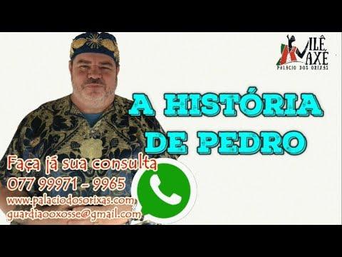 A HISTORIA DE PEDRO-PRETOS VELHOS-GUARDIÃO OXOSSÍ