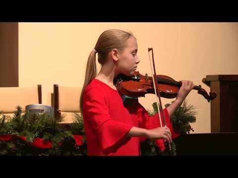 Grace Maxian - Concerto in A Minor, 3rd movement, Vivaldi