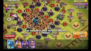 71 Max Electro Dragon Attack To This Insane Base | Clash of Clans Private Server| Wolf Gaming | coc