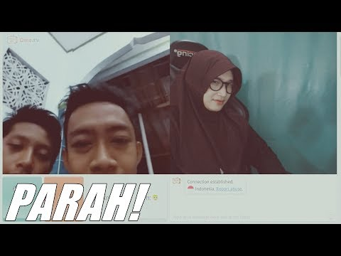 make you laugh! how this beautiful hijaber faces the male masher