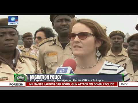 EU Experts Train Nigeria Immigration Marine Officers In Lagos