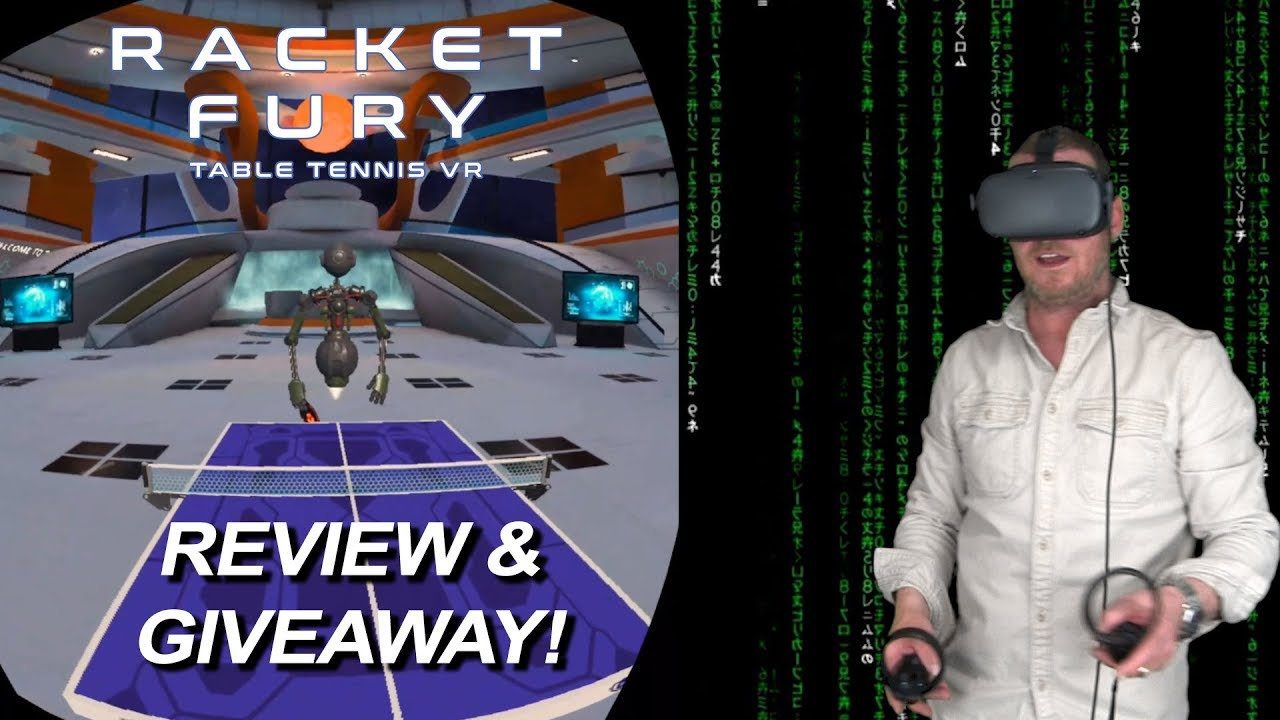 Oculus Quest Racket Fury Review and Gameplay by Tyco Tech