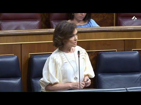"""Lapsus de Carmen Calvo al ser preguntada por la credibilidad del Gobierno: """"Nunca ha existido"""""""