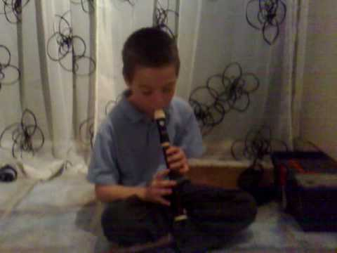 silent night on the recorder by james clay
