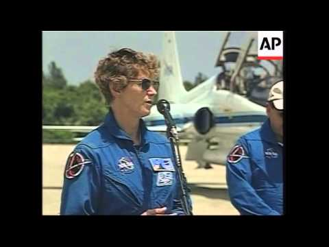 Astronauts From Texas Arrive At Cape Canaveral For NASA's 1st ...