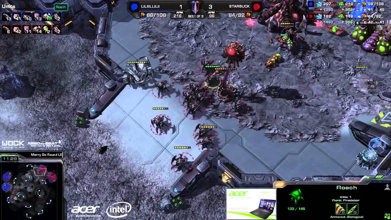 Leenock vs. Starbuck - MouseSports vs. FlashWolves - Game 5 - StarCraft 2