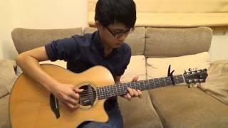 陶喆-普通朋友(acoustic guitar solo)