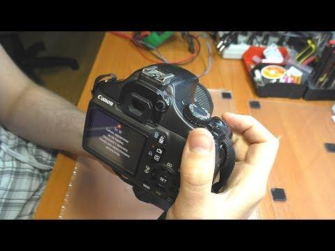Дешевый ремонт затвора / Ошибка Err 30 на зеркалке Canon 1100D - Лучшие приколы. Самое прикольное смешное видео!