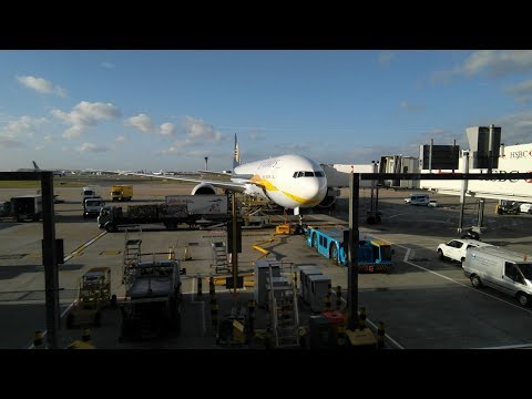 Jet Airways 9W116 Mumbai to London Heathrow Boeing-777 flight experience