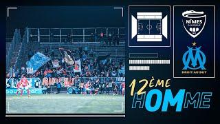 VIDEO: Nîmes 2-3 OM La victoire vue du parcage