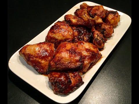 le-poulet-sauce-bbq,-simple,-rapide-et-délicieux