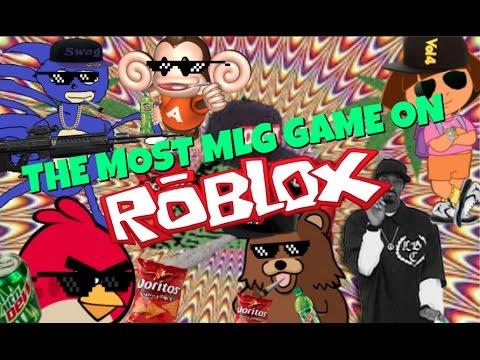 MOST MLG GAME ON ROBLOX - I'M SO MLG (WARNING RIP HARAMBE)
