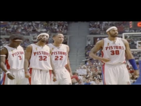 TRAILER - Overview of 2004-2006 Pistons' Defense