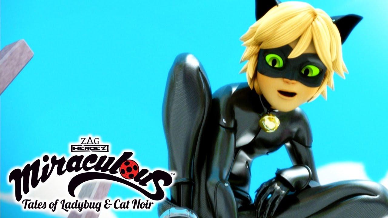 Miraculous ladybug episode marinette in paris tales of ladybug cat noir youtube - Dessin a colorier ladybug et chat noir ...
