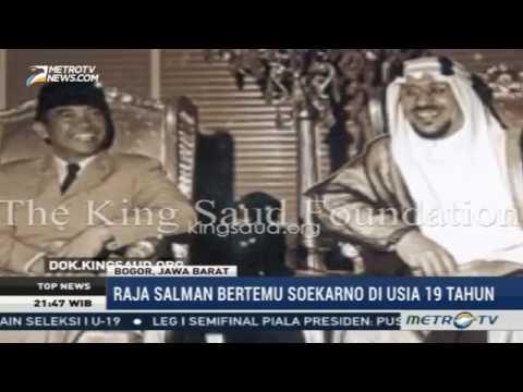 TERHARU Raja Salman Teringat Sosok Soekarno, Presiden Pertama Republik Indonesia