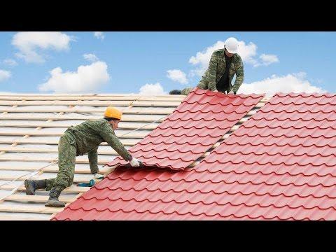 Как класть крышу из металлочерепицы