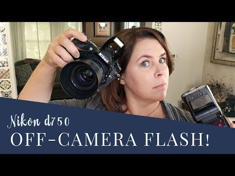 Photography 101: How to use Off Camera Flash with Nikon d750 in TTL
