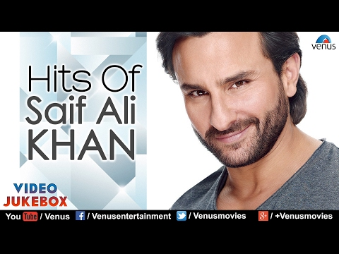 Hits Of SAIF ALI KHAN | 90's Bollywood Songs | Evergreen Romantic Hits - Video Jukebox