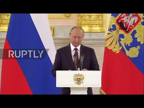 Russia: Putin expresses condolences to new US ambassador in wake of Las Vegas massacre