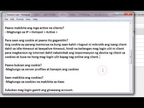 Mikrotik & readyVoucher hotspot tutorial | FunnyCat TV