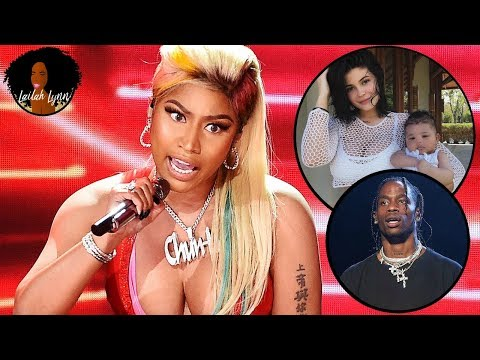 Nicki Minaj Says Kylie Jenner & Baby Stormi Made Her 'Queen' Album Chart At #2