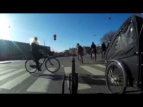 Copenhagen Cycling: One Hour of  Rush Hour