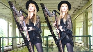 FLEETWOOD MAC / STEVIE NICKS - Rhiannon (Harp Twins) Camille and Kennerly