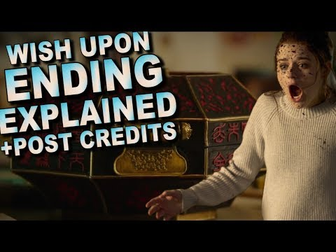 Wish Upon Post Credits Scene And Ending Explained Breakdown And Recap