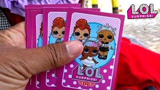 Kartu LOL SURPRISE Collection Card 💟 Mainan Anak Perempuan Karakter Disney & Princess Card