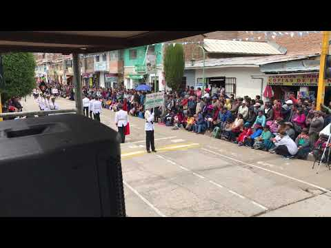 I. E. Maria Reiche y Francisca diez Canseco de Castilla & concurso de escoltas Huancavelica 2018