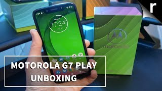 Moto G7 Play Unboxing & Tour