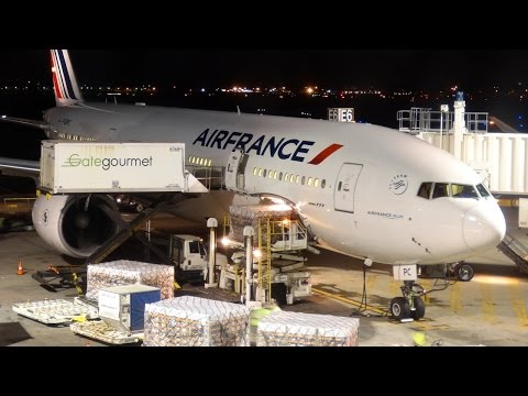 Full Flight - (AF321) Air France B777-228(ER) - Boston (BOS) to Paris (CDG)