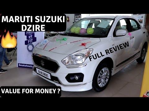#MARUTISUZUKI DZIRE VXI MODEL 2019 MARUTI SUZUKI DZIRE VDI REVIEW IN HINDI PRICE INDIA SPECS AD