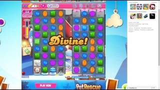 candy crush saga level 1384 no booster 3 stars 465 k pts