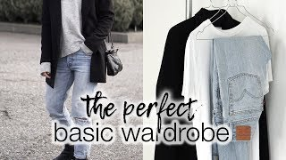 The perfect basic wardrobe | The effortless style #1