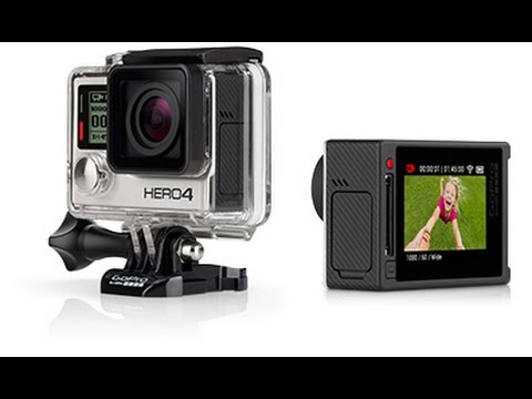 Best Buy GoPro HERO4 Silver  Pro quality capture  Touch display convenience2826