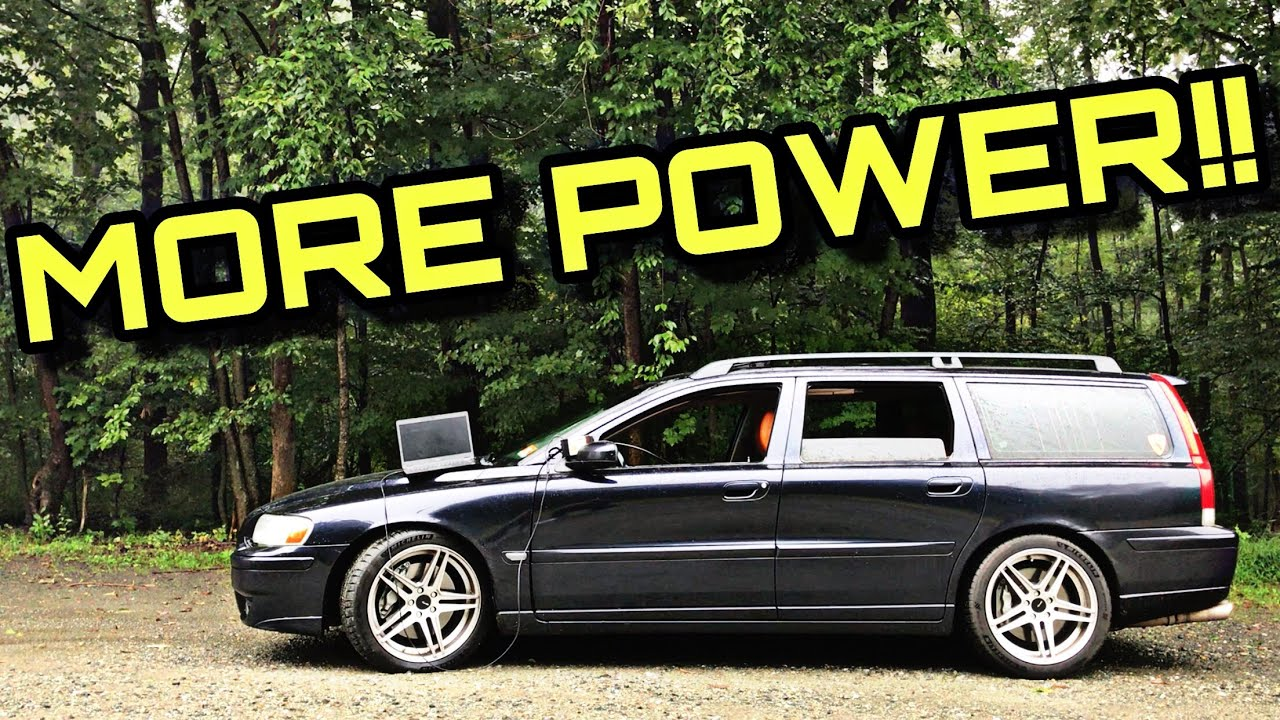 How To (Safely) Get More Power Out Of Your Volvo V70R