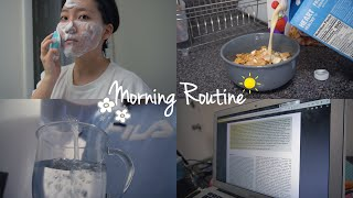 my college morning routine ☺︎
