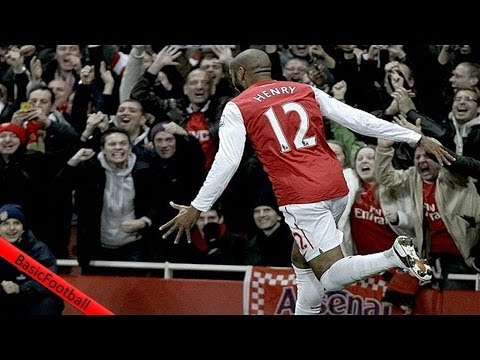 Top 10 Goals and Moments at the Emirates Stadium.