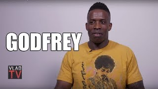 Godfrey Does Shannon Sharpe Impression to Weigh In on Antonio Brown (Part 1)