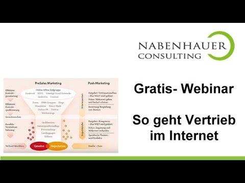 So geht Vertrieb im Internet - Das Presales Marketing Prinzip - Robert Nabenhauer